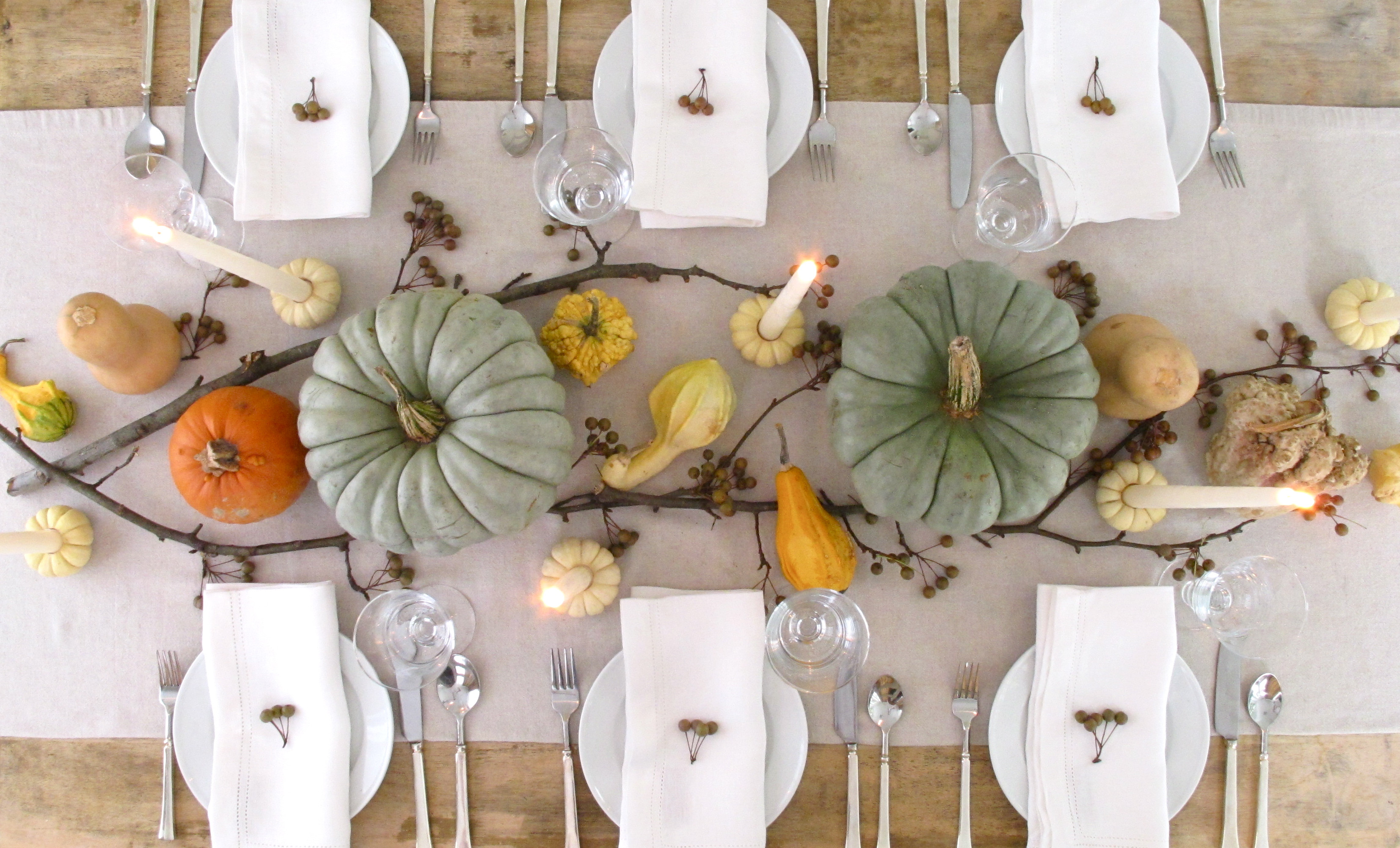 Thanksgiving Dinner Decorations  Our favorite Thanksgiving Day table settings TODAY