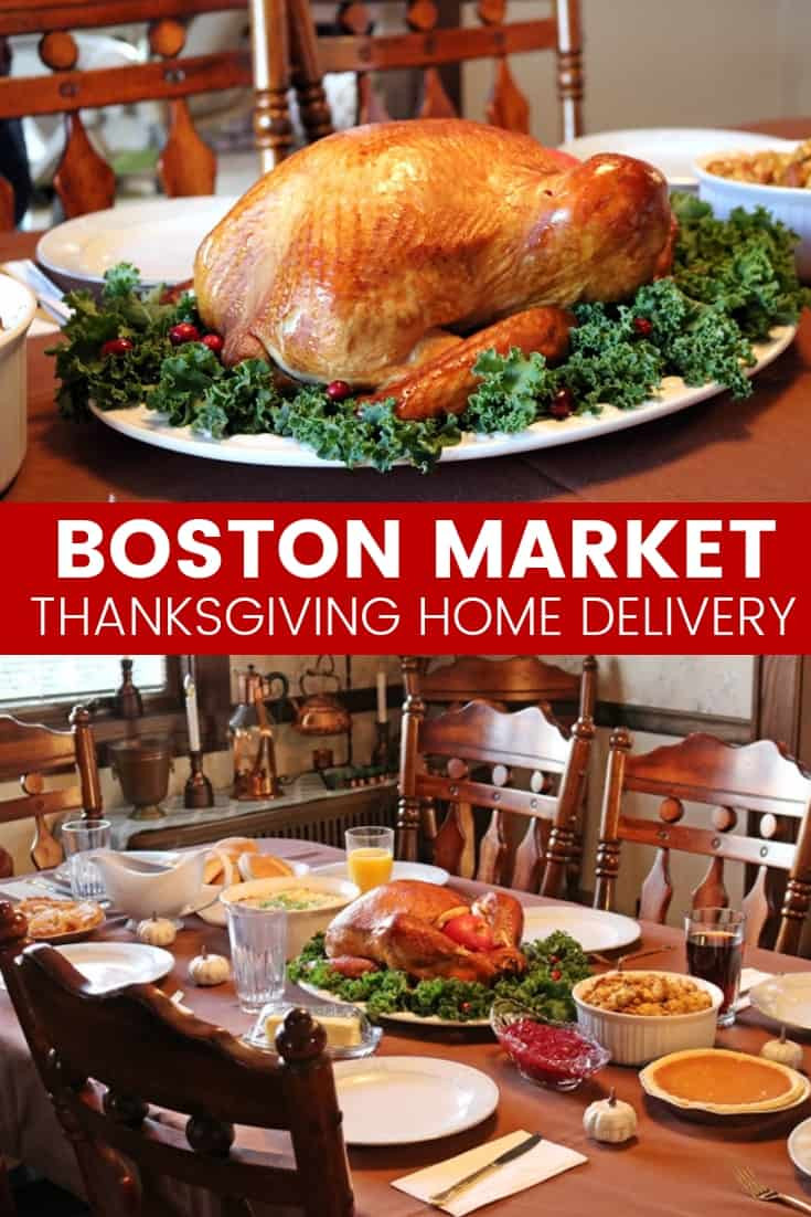 Thanksgiving Dinner Delivery  Thanksgiving Made Easy Boston Market Thanksgiving Meal