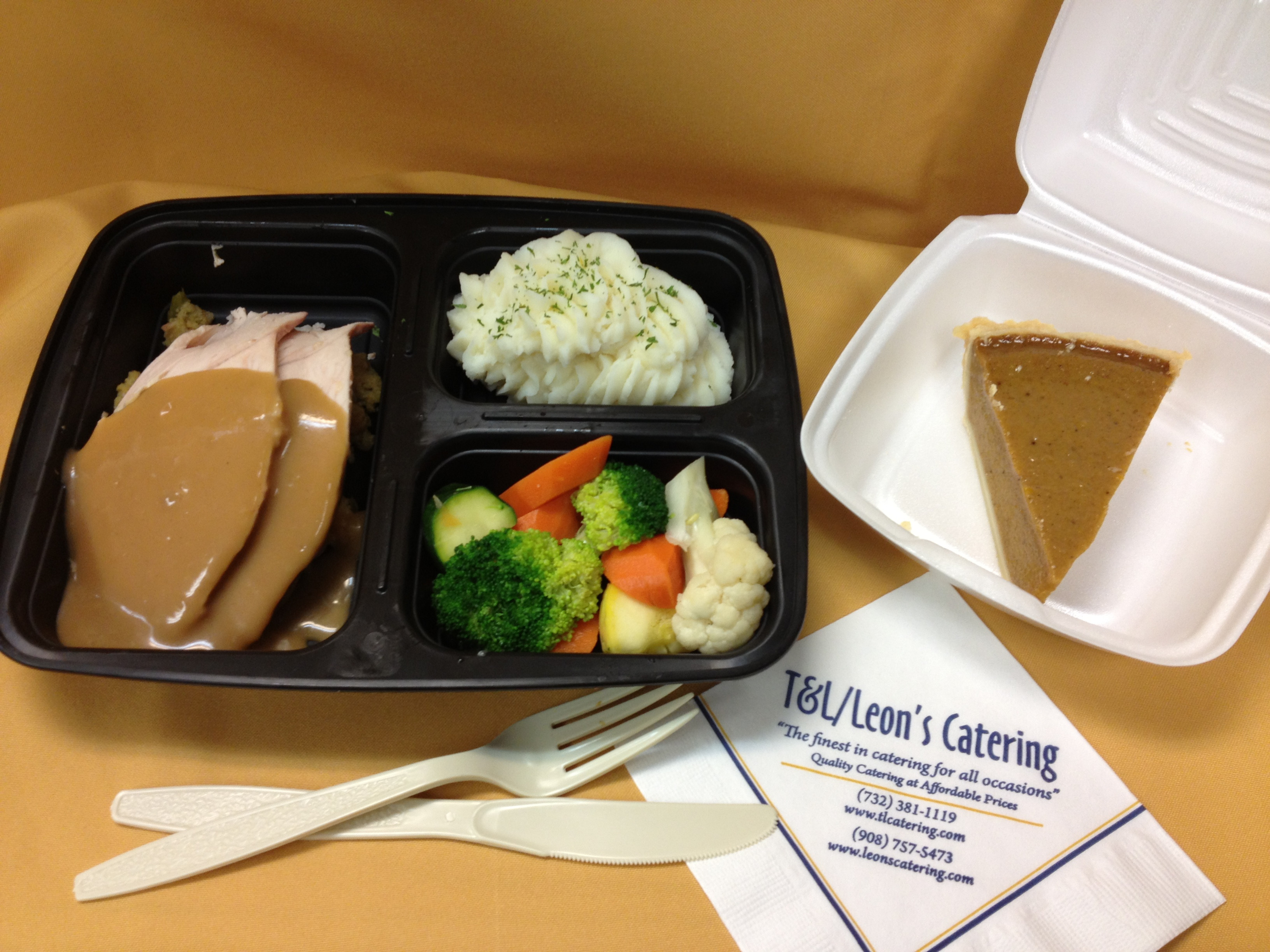 Thanksgiving Dinner Delivery  Individual Thanksgiving Dinners T&L Catering Leon s