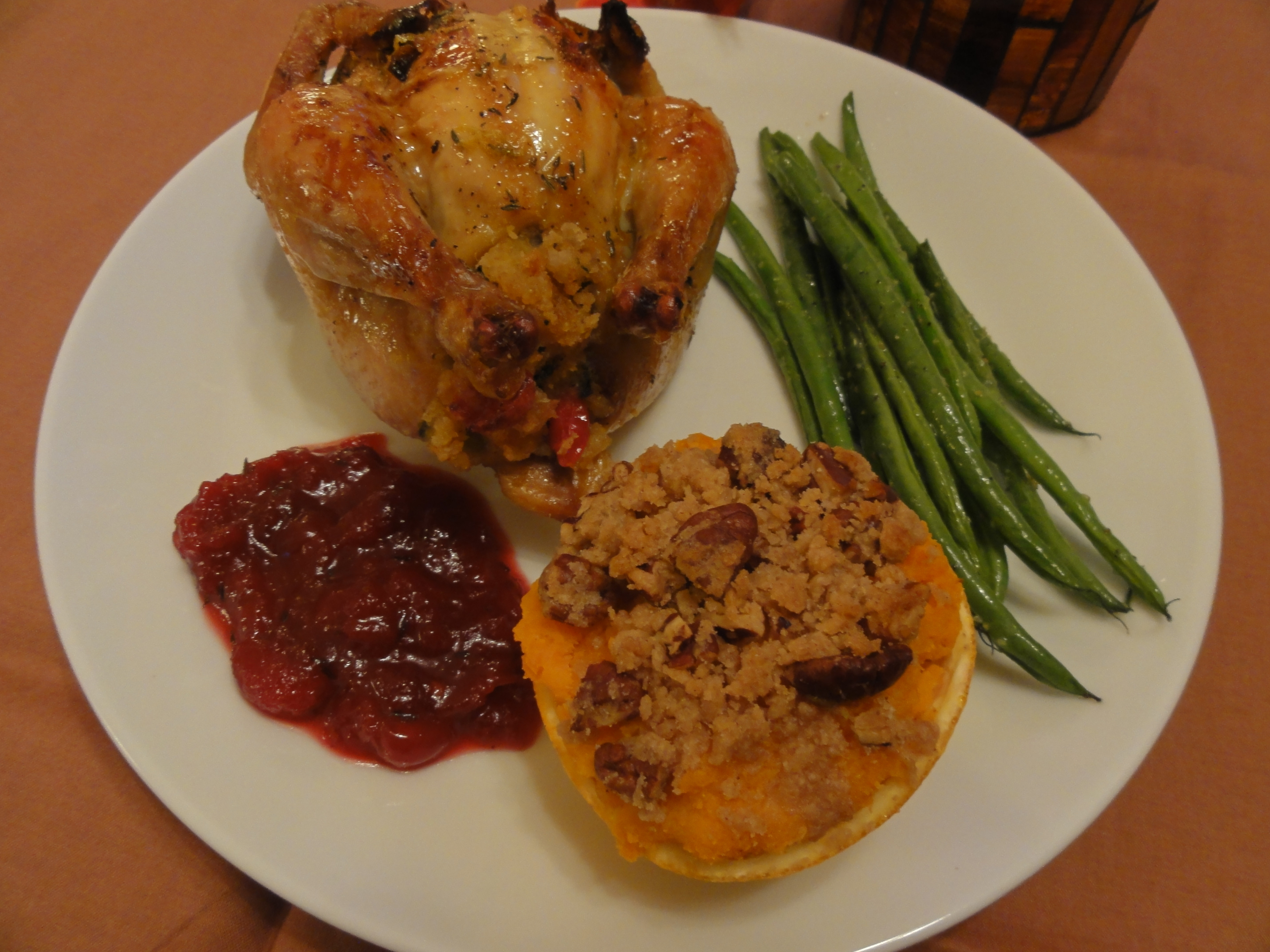 Thanksgiving Dinner For One  Thanksgiving Dinner for Two version 1