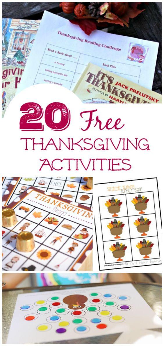 Thanksgiving Dinner Games  Pinterest • The world's catalog of ideas