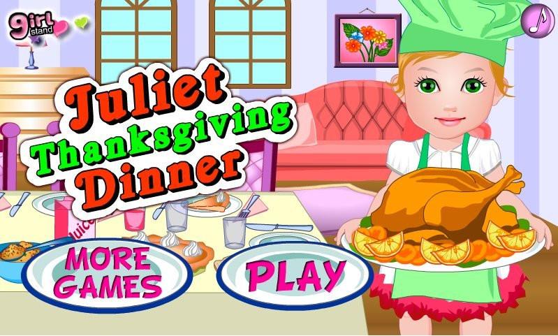 Thanksgiving Dinner Games  Juliet Thanksgiving Dinner game