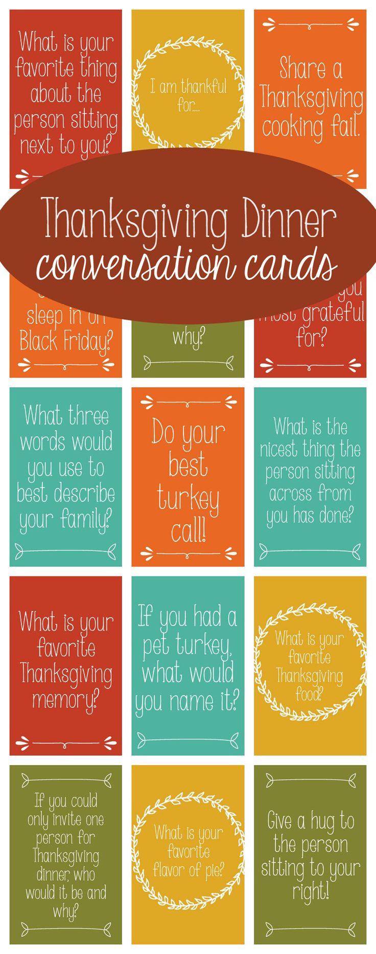 Thanksgiving Dinner Games  25 best Thanksgiving dinner tables ideas on Pinterest