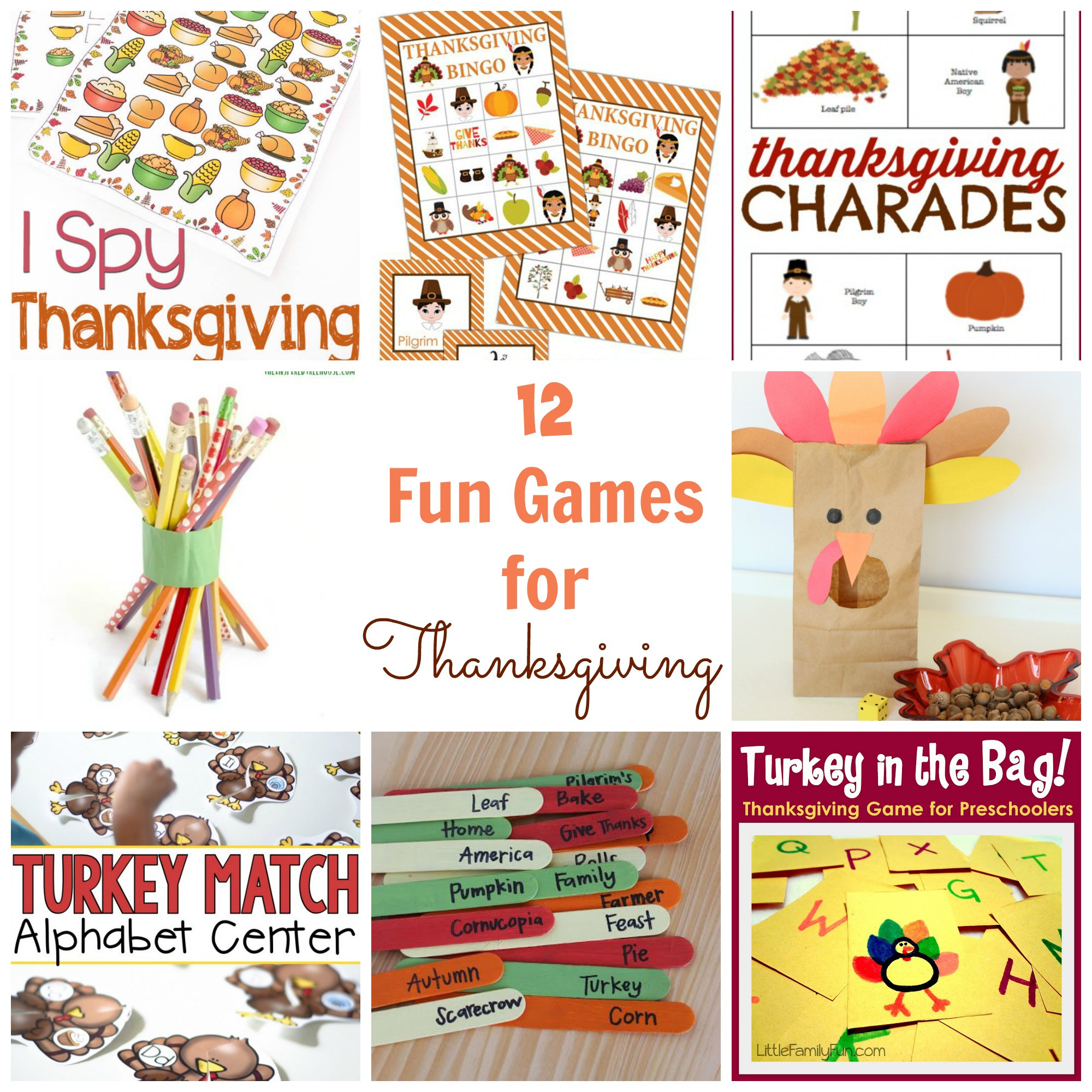 Thanksgiving Dinner Games  12 Fun Thanksgiving Games Happy Home Fairy