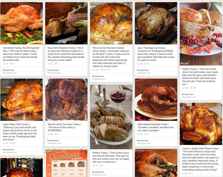 Thanksgiving Dinner Ideas Pinterest  Pinterest for Thanksgiving turkey dinner recipes – Product
