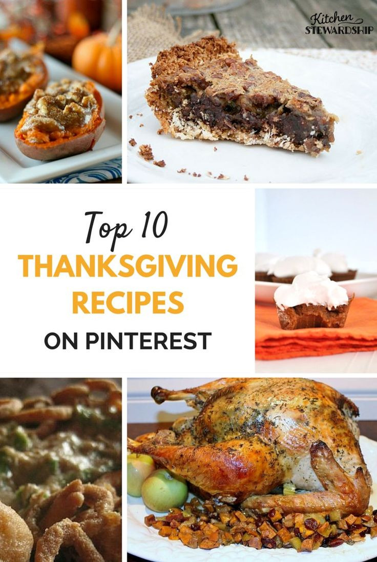 Thanksgiving Dinner Ideas Pinterest  17 Best images about Thanksgiving Recipes on Pinterest