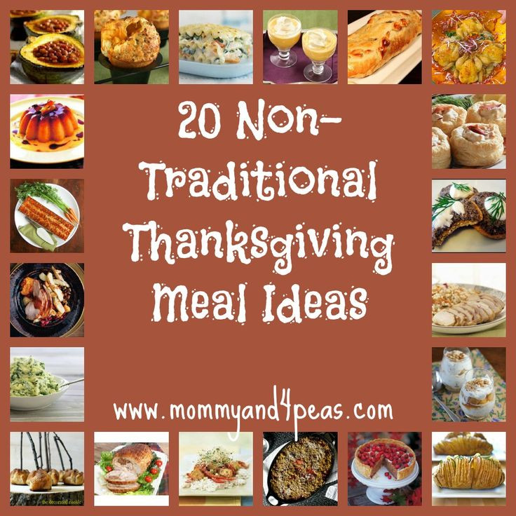 Thanksgiving Dinner Ideas Pinterest  Host a Non Traditional Thanksgiving 20 Great Meal Ideas