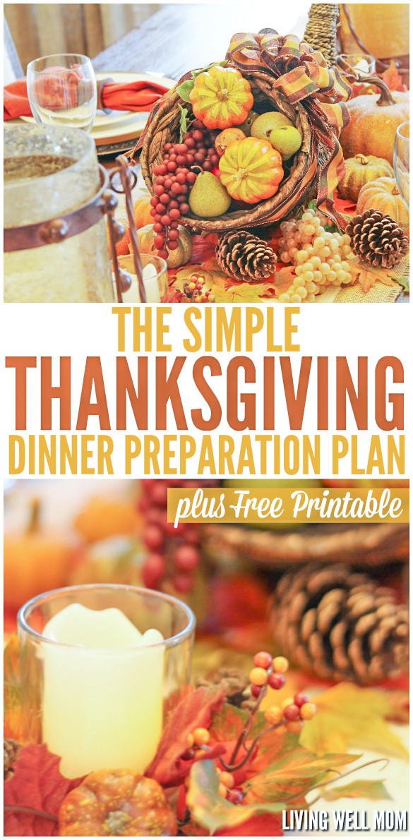 Thanksgiving Dinner Ideas Without Turkey  How to Plan & Organize Your Thanksgiving Dinner Free
