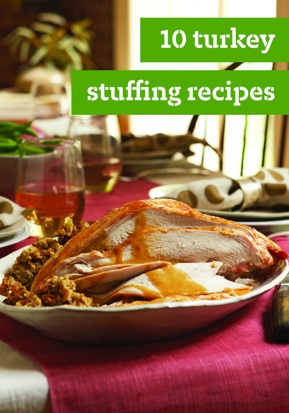 Thanksgiving Dinner Ideas Without Turkey  10 Turkey Stuffing Recipes – Turkey may top billing at