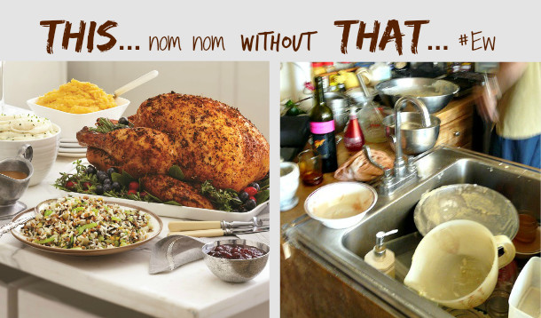 Thanksgiving Dinner Ideas Without Turkey  Thanksgiving Dinner Without The Fuss or The Mess