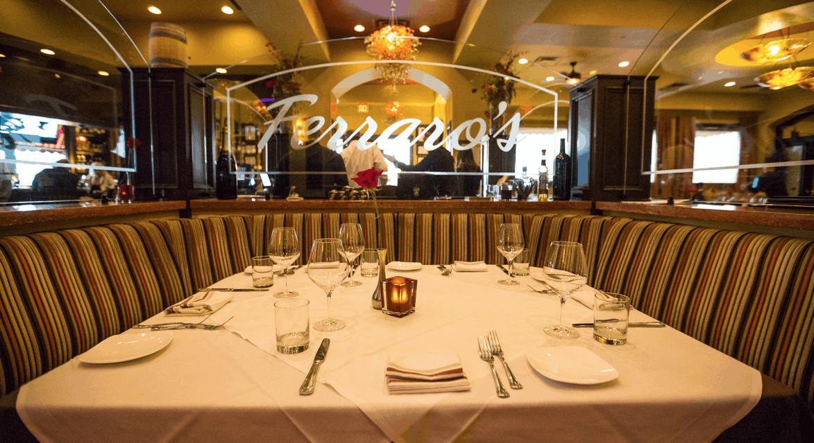 Thanksgiving Dinner Las Vegas  Enjoy Thanksgiving Dinner Ferraro s in Las Vegas