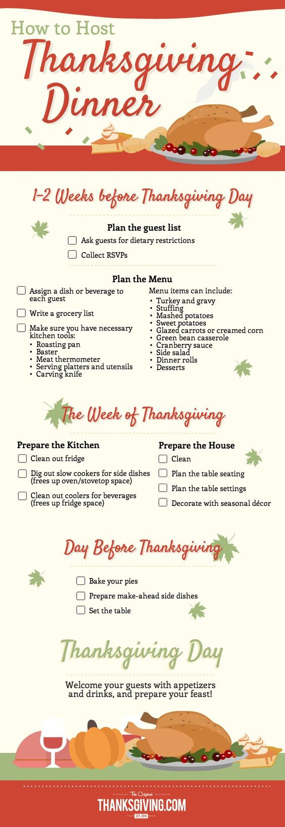 Thanksgiving Dinner List  Pinterest • The world's catalog of ideas