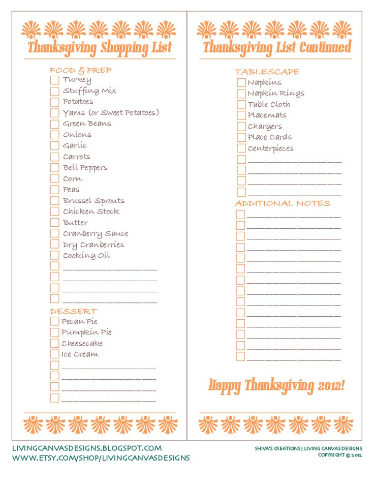 Thanksgiving Dinner List  37 best images about Thanksgiving Meal Ideas on Pinterest