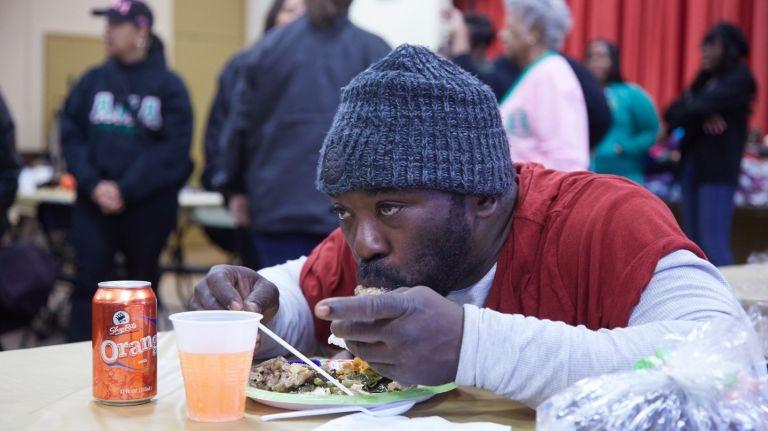Thanksgiving Dinner Long Island 2019  Roosevelt Thanksgiving meal offers taste of tradition