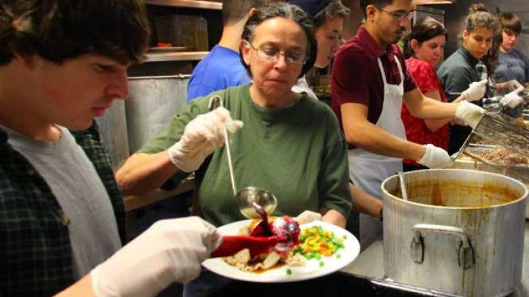 Thanksgiving Dinner Long Island 2019  Soup kitchens serve holiday meals to needy