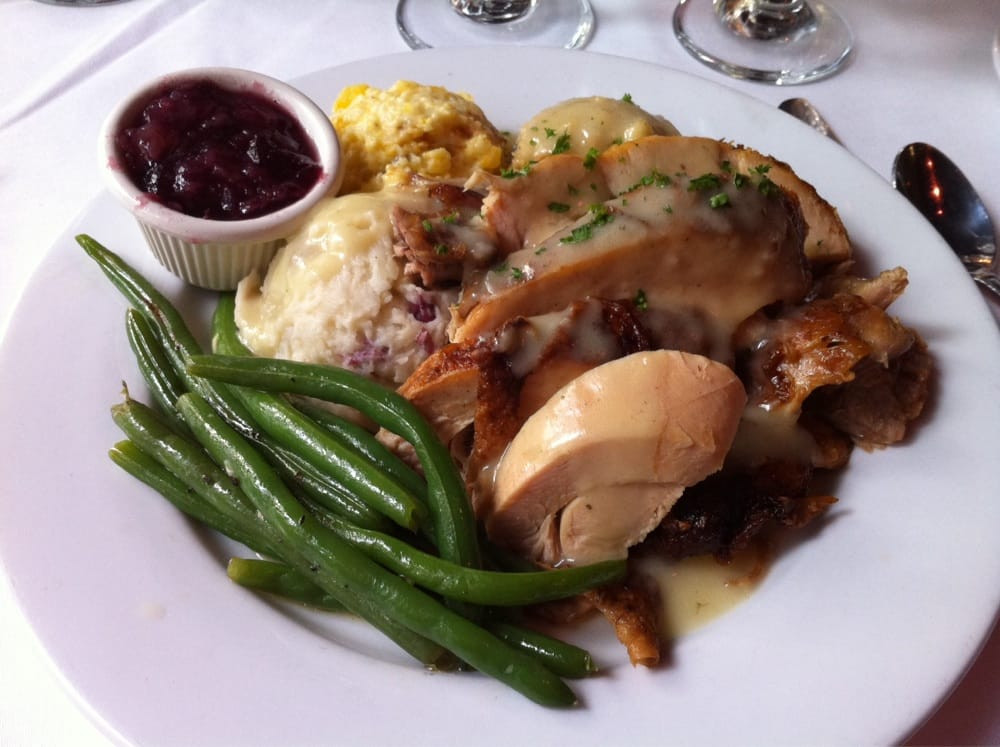 Thanksgiving Dinner Plate  Thanksgiving dinner plate Cajun fried turkey Yelp