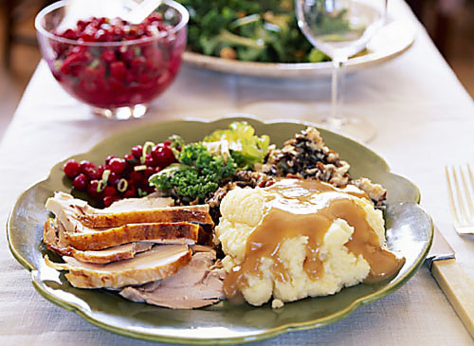 Thanksgiving Dinner Plate  Where to dine on Thanksgiving day
