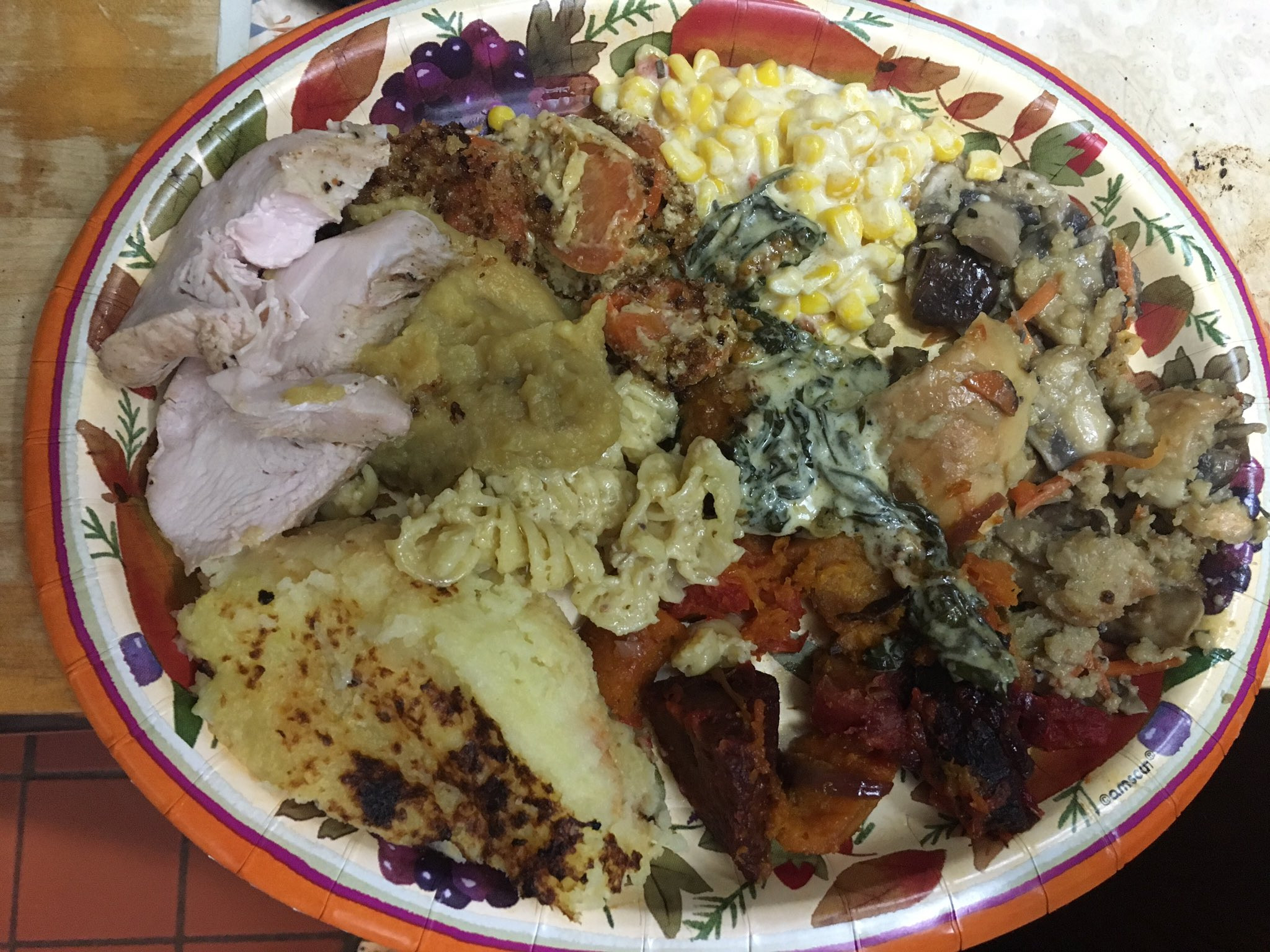 Thanksgiving Dinner Plate  Ian Rapoport Posts His Thanksgiving Plate Twitter Gets