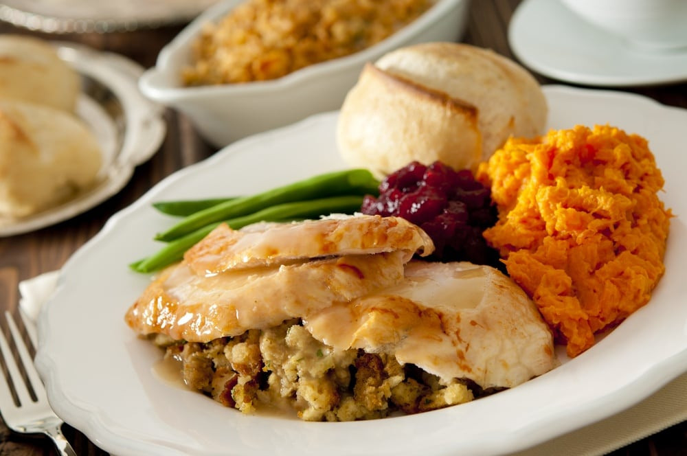 Thanksgiving Dinner Plate  Plan an Incredible Thanksgiving at a Gatlinburg Condo in 5