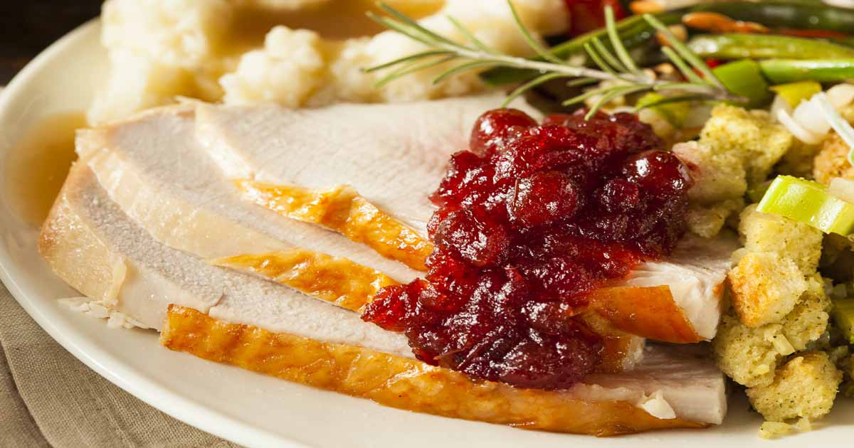 Thanksgiving Dinner Plate  9 Quick Tips Quick Tips to Stretch Thanksgiving Dinner