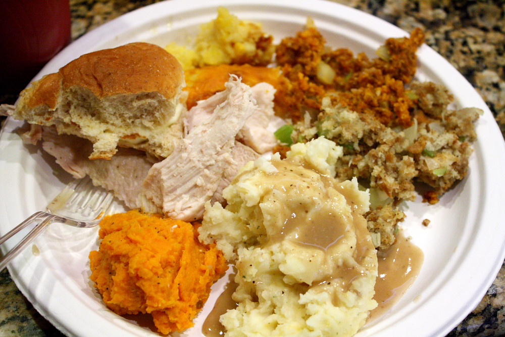 Thanksgiving Dinner Plate  How to make a Southern Thanksgiving meal