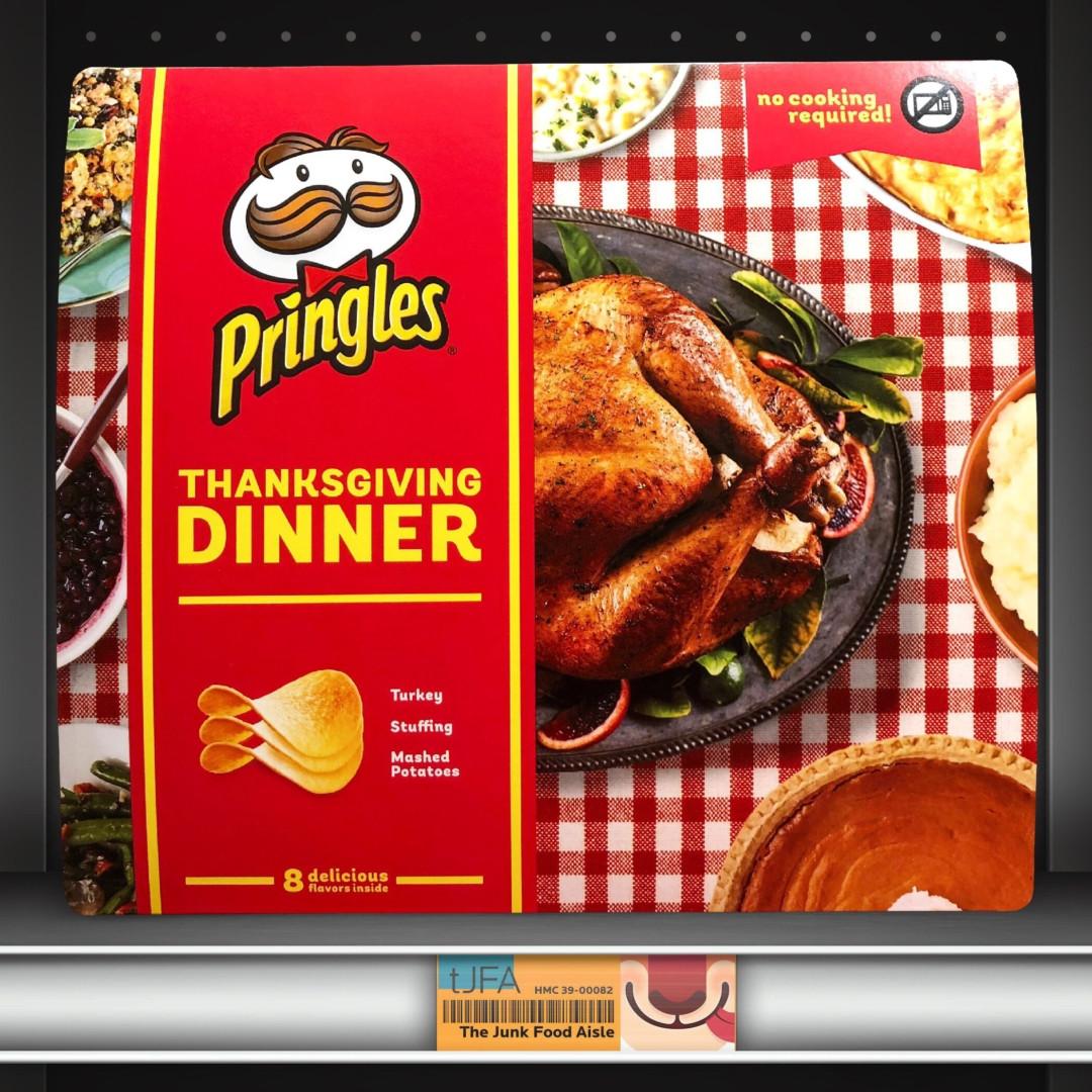 Thanksgiving Dinner Pringles  Thanksgiving Dinner Pringles The Junk Food Aisle