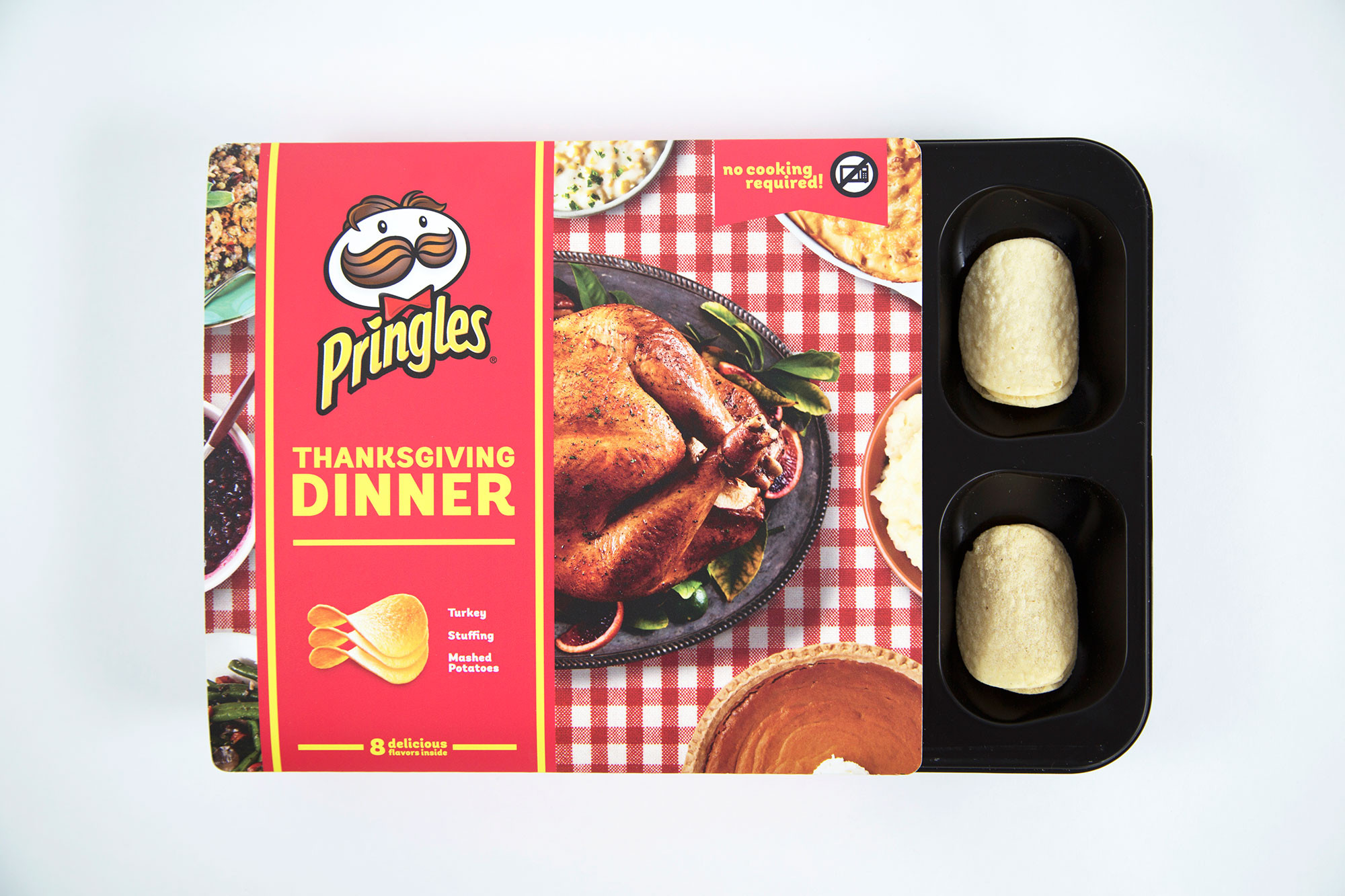 Thanksgiving Dinner Pringles  Pringles Unveils Thanksgiving Flavors for the First Time