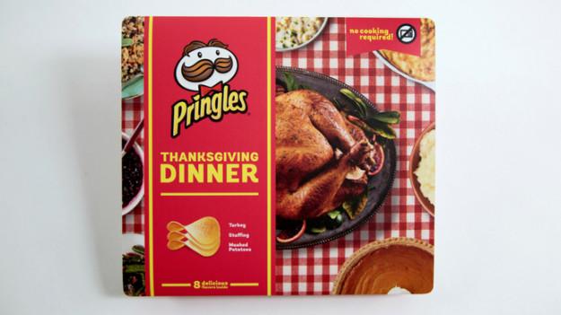 Thanksgiving Dinner Pringles  These Thanksgiving Dinner Pringles Actually Do Taste Like