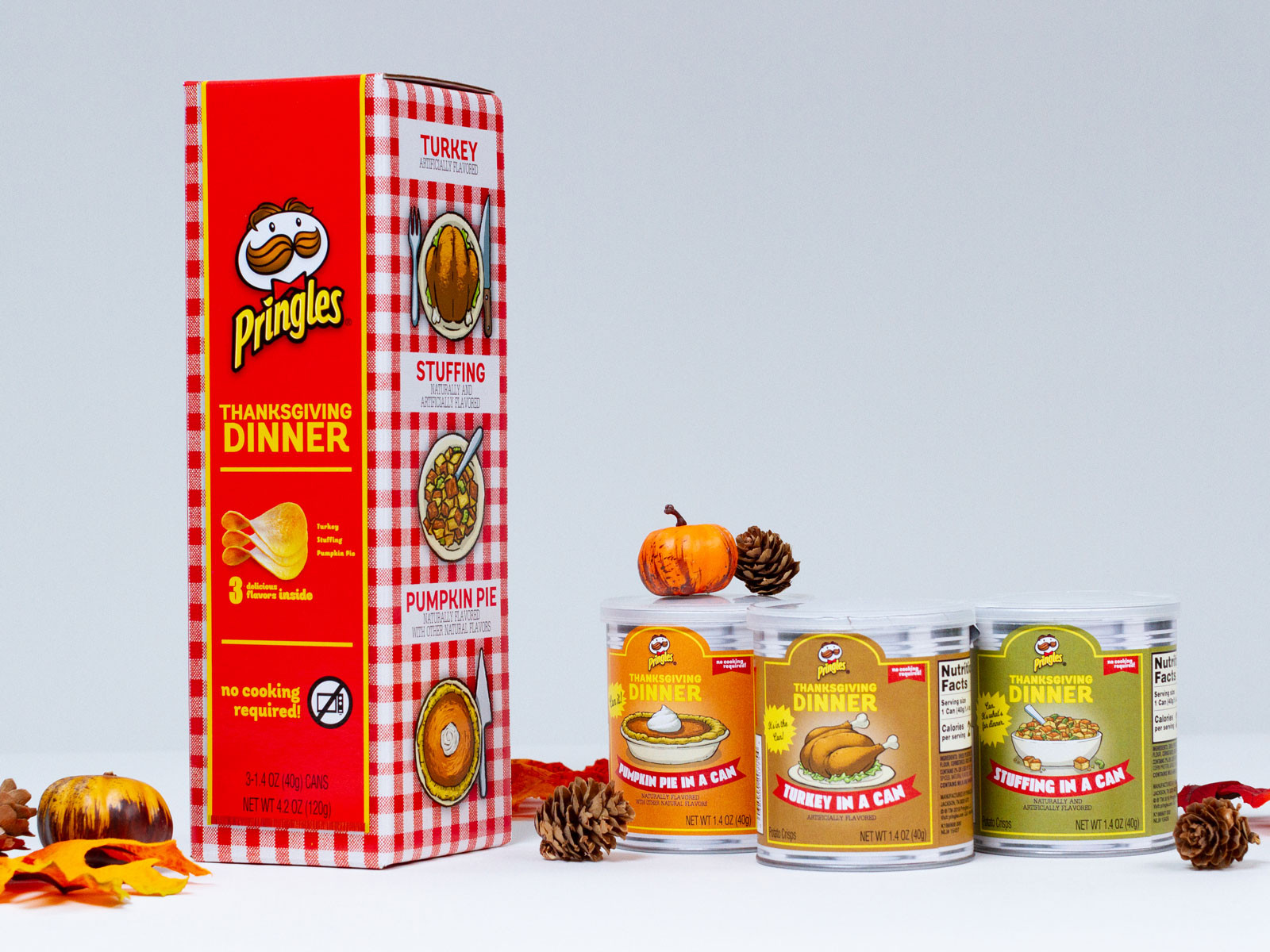 Thanksgiving Dinner Pringles  Pringles Thanksgiving Dinner Flavors Are Available to the