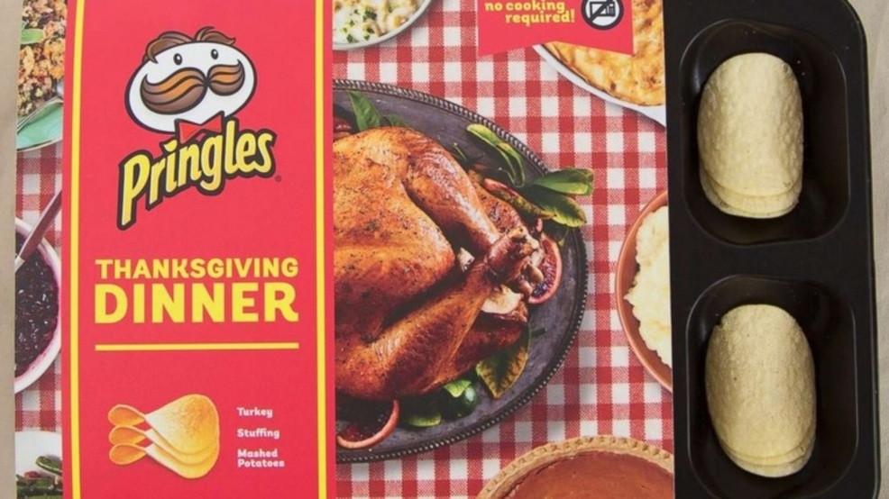 Thanksgiving Dinner Pringles  Pringles launches Thanksgiving Dinner pack