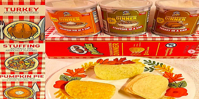 Thanksgiving Dinner Pringles  Thanksgiving Dinner in a Can 96 7 KCMQ Classic Rock
