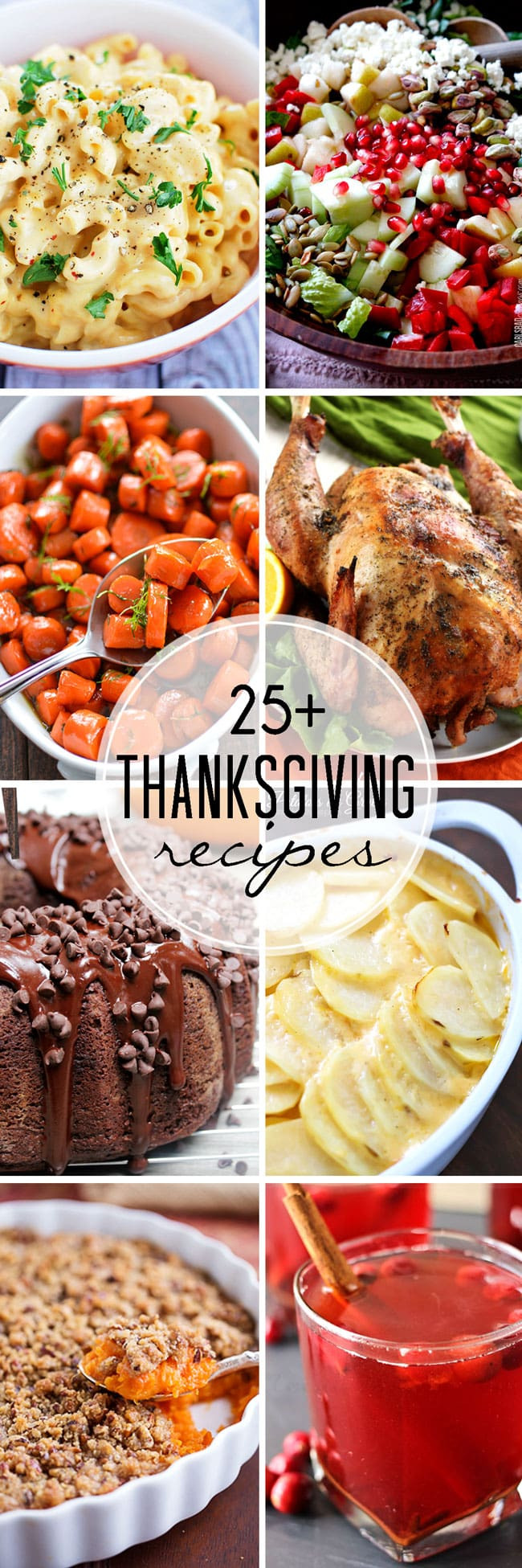 Thanksgiving Dinner Recipes  25 Thanksgiving Recipes That Skinny Chick Can Bake