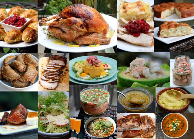 Thanksgiving Dinner Recipes  Latin inspired Thanksgiving recipe ideas Laylita s Recipes