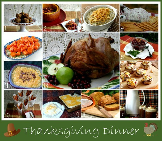 Thanksgiving Dinner Recipes  Thanksgiving Dinner Recipes Recipe