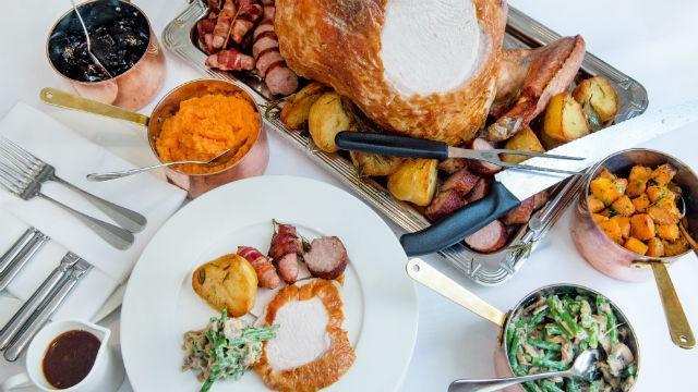Thanksgiving Dinner Restaurant 2019  Thanksgiving in London 2019 Special Event visitlondon