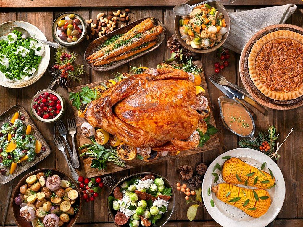 Thanksgiving Dinner Restaurant 2019  Thanksgiving Turkey Holiday Wallpaper