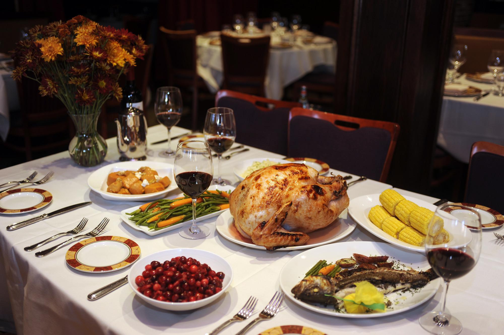 Thanksgiving Dinner Restaurant  Where to dine on Thanksgiving Day in Baltimore