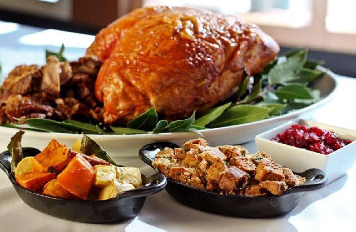 Thanksgiving Dinner Restaurant  Best Restaurants Open For Thanksgiving Dinner 2017 In Los
