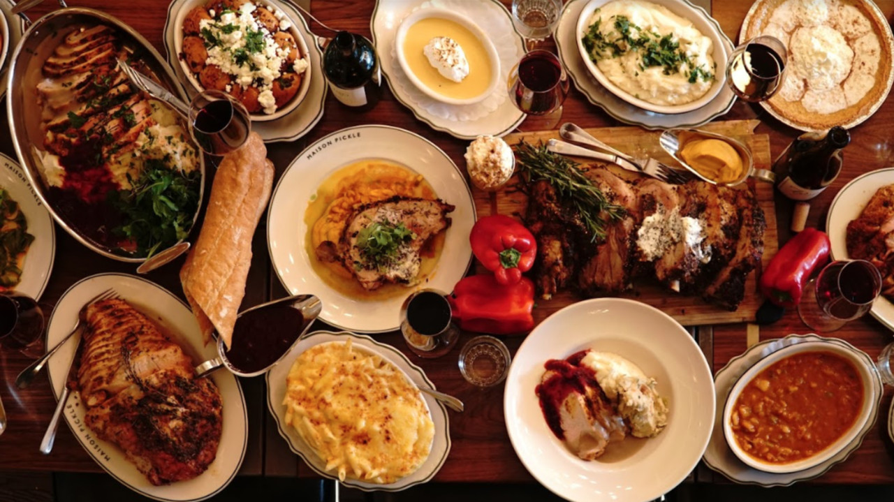 Thanksgiving Dinner Restaurant  NYC restaurants serving Thanksgiving dinner