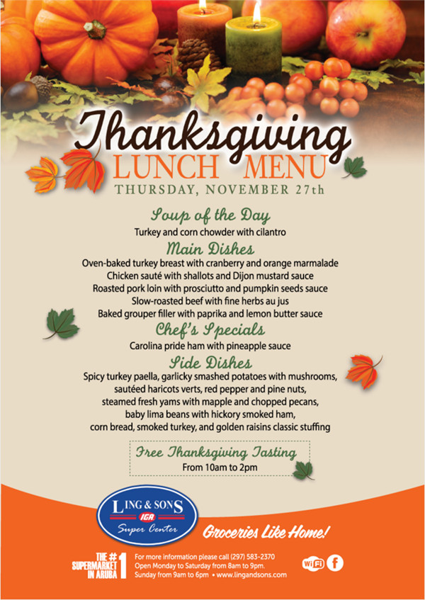 Thanksgiving Dinner Restaurant  20 Thanksgiving Campaign Ideas Including Examples and