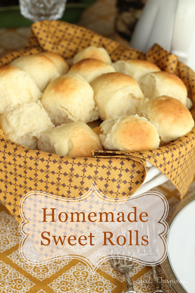Thanksgiving Dinner Rolls  Thanksgiving Side Dishes The Idea Room