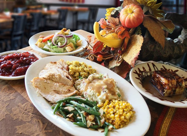 Thanksgiving Dinner San Diego  San Diego Restaurants Serving Thanksgiving Meals