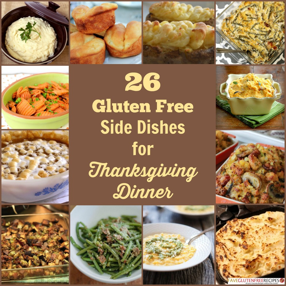 Thanksgiving Dinner Side Dishes Recipes  26 Gluten Free Side Dish Recipes for Thanksgiving Dinner