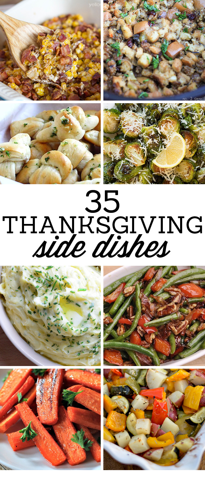 Thanksgiving Dinner Side Dishes Recipes  35 Side Dishes for Christmas Dinner Yellow Bliss Road