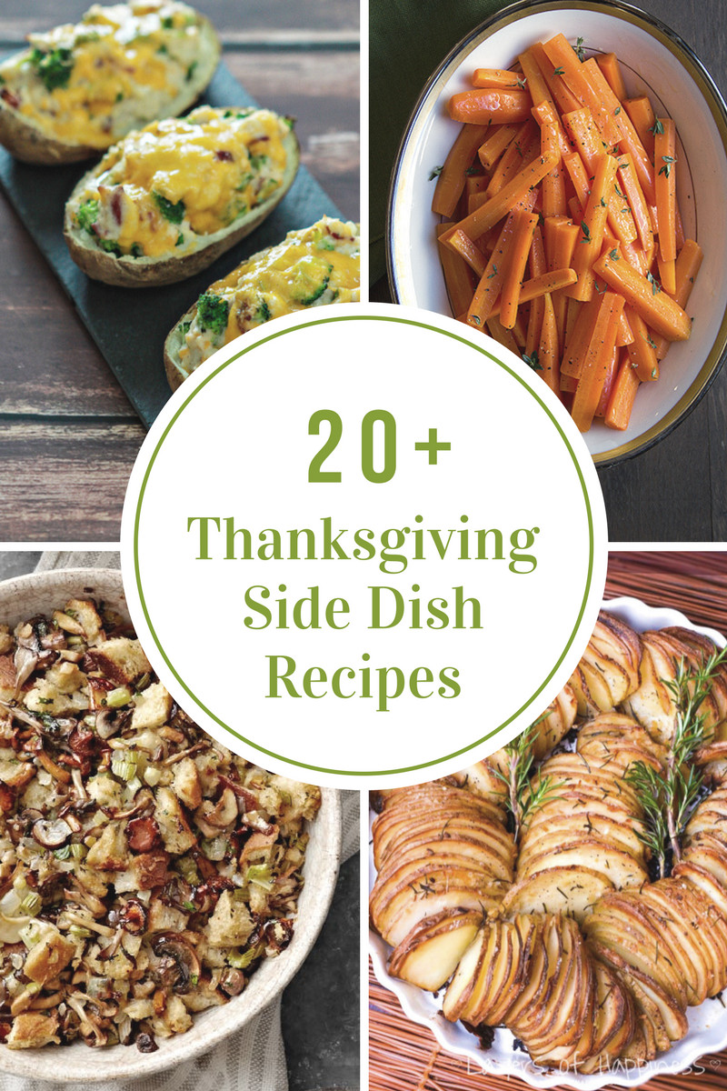 Thanksgiving Dinner Side Dishes Recipes  Thanksgiving Dinner Menu Recipe Ideas The Idea Room