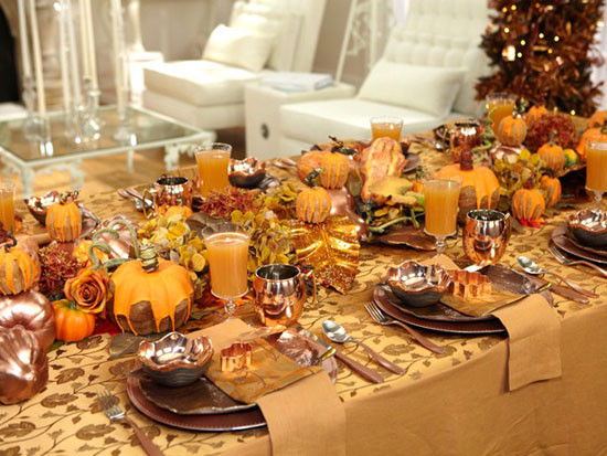 Thanksgiving Dinner Table Settings  Tabletop Tuesday Thanksgiving Table Settings