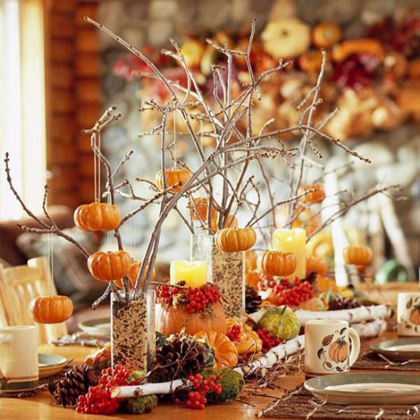 Thanksgiving Dinner Table Settings  5 Quick and Cheap Thanksgiving Decorating Ideas • The