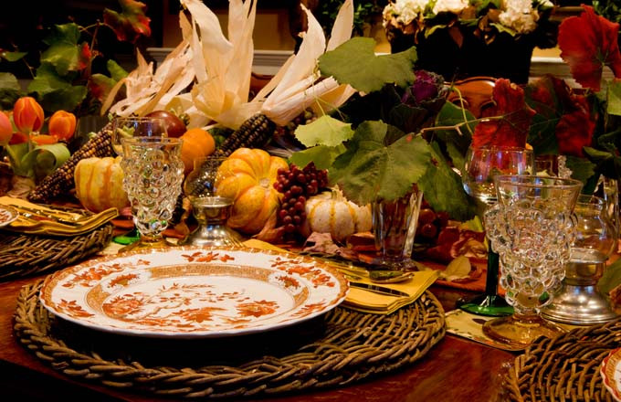 Thanksgiving Dinner Table Settings  Decoration Ideas For Your Thanksgiving Table