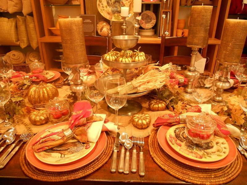Thanksgiving Dinner Table Settings  Thanksgiving Table Decoration