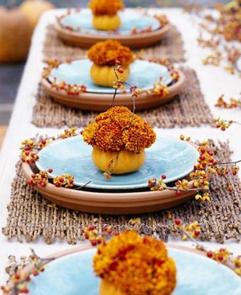 Thanksgiving Dinner Table Settings  Thanksgiving Table Setting s and